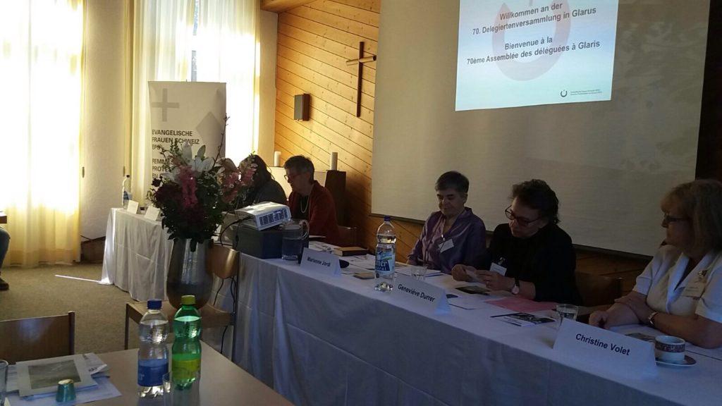 Delegiertenversammlung EFS